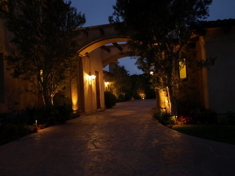 Landscape Lighting Hidden Hills Modern Landscape  Lighting
