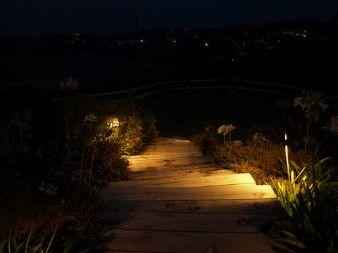 Landscape Lighting Hidden Hills Steps