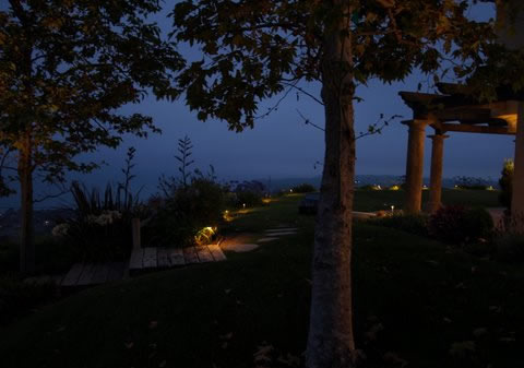 Landscape Lighting Hidden Hills Pathways